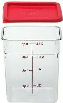 Cambro Camwear Polycarbonate Square Food Storage Container,