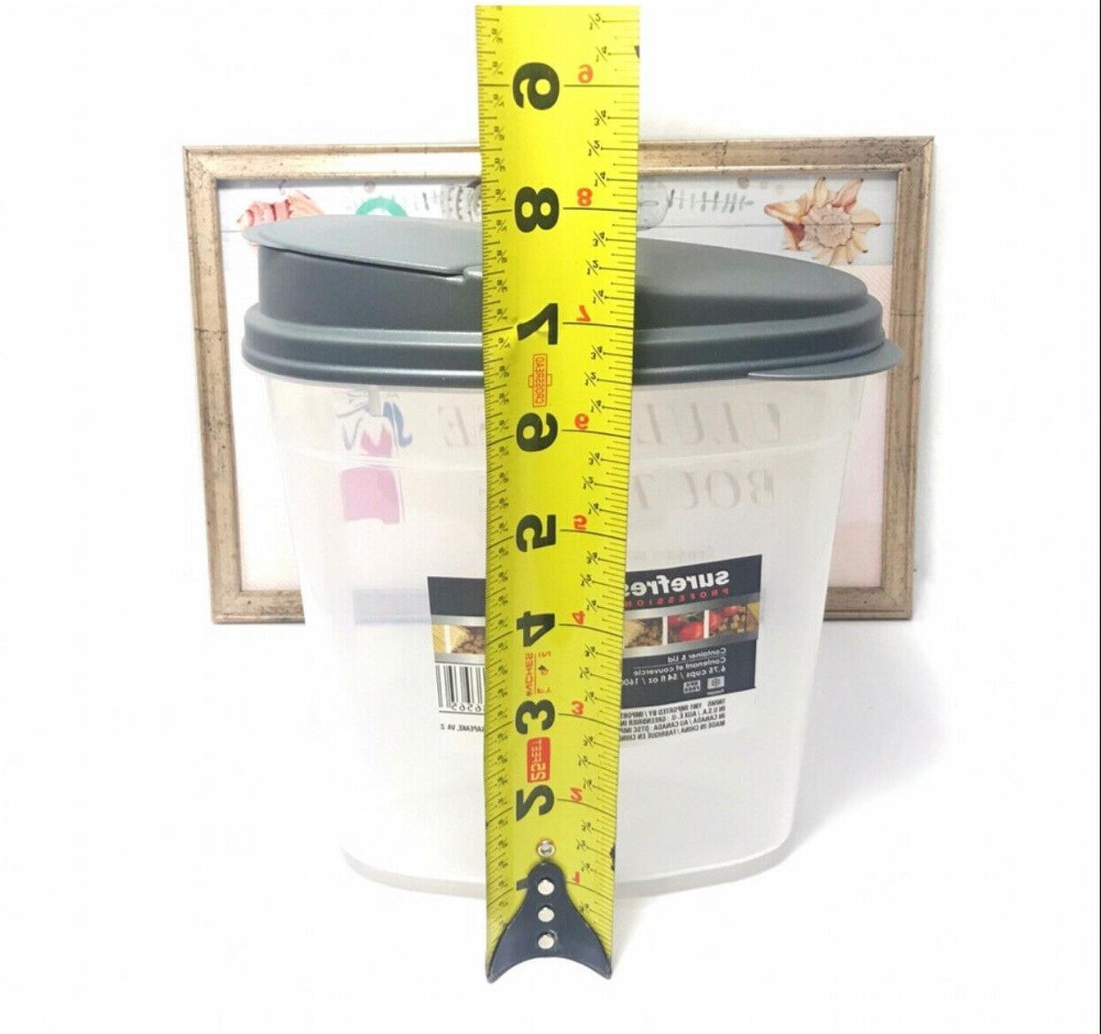 Cereal Keeper Dry Food OVAL  Storage Dispenser Dishwasher Sa