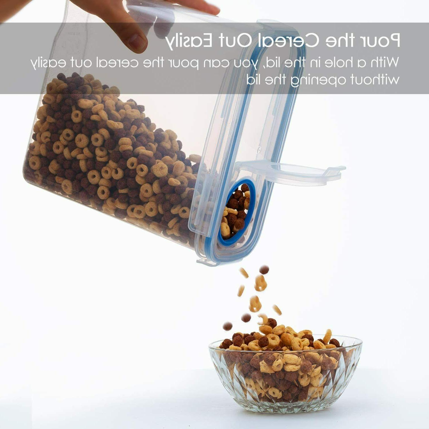 Cereal Storage BPA Free Plastic Food Containers