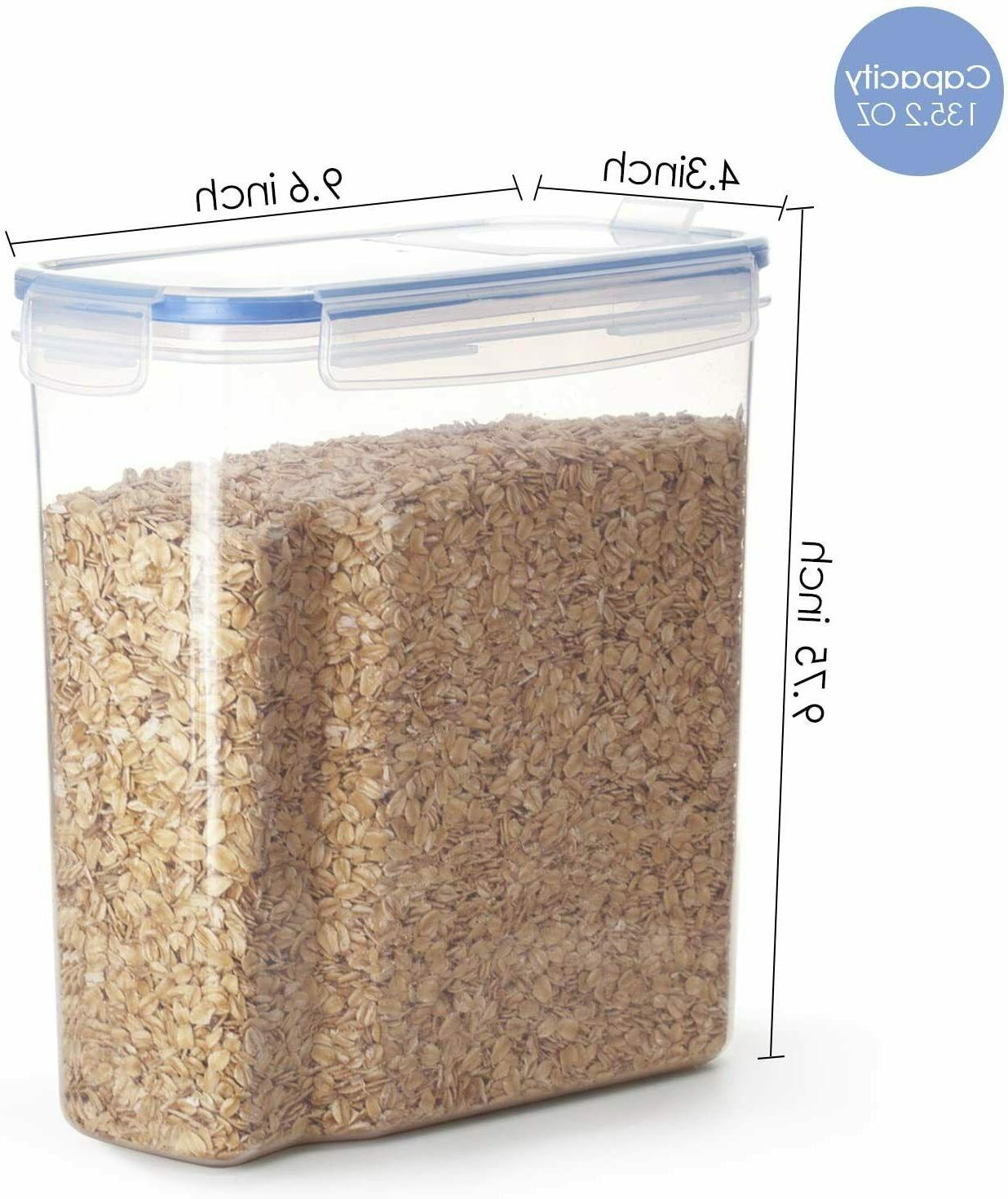 Cereal Storage Set, BPA Free Airtight Food Storage