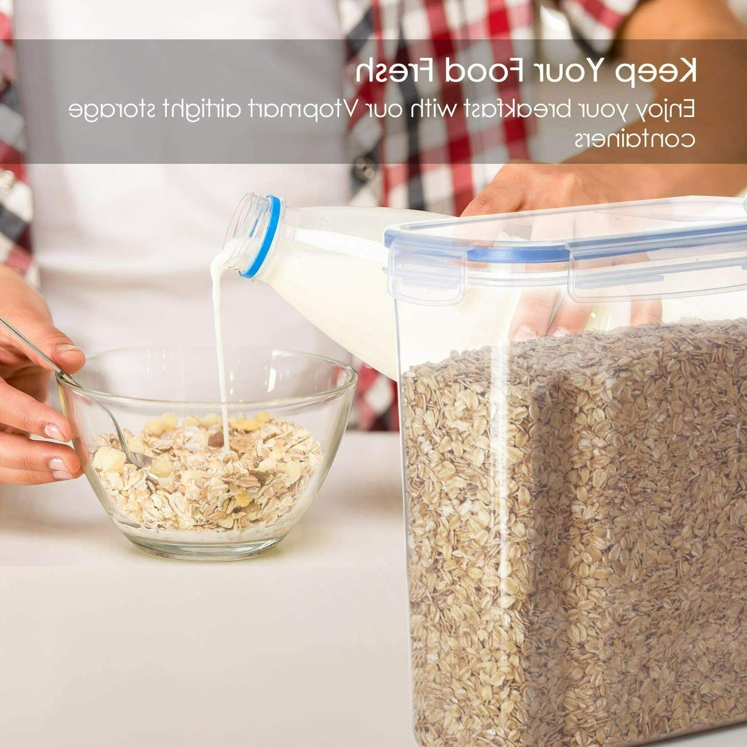 Cereal Storage BPA Plastic Food