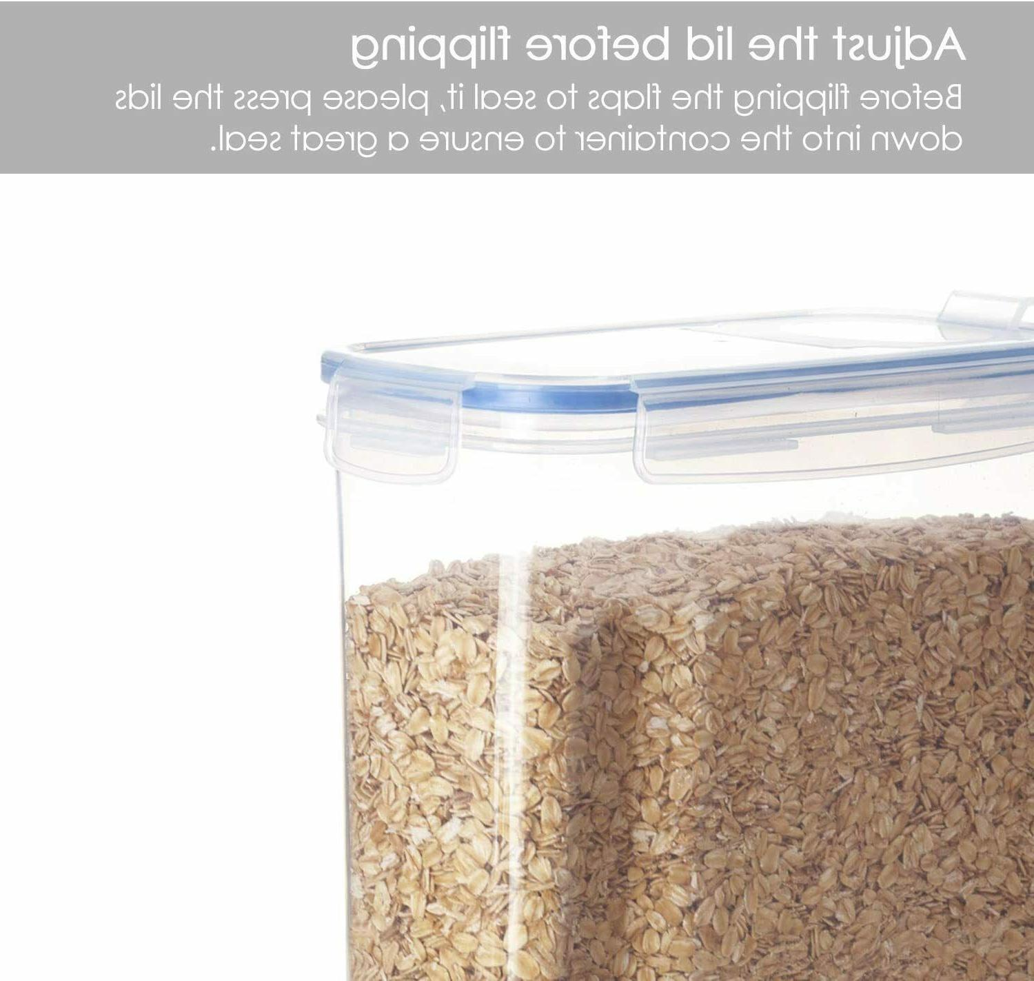 Cereal BPA Free Airtight Food Containers