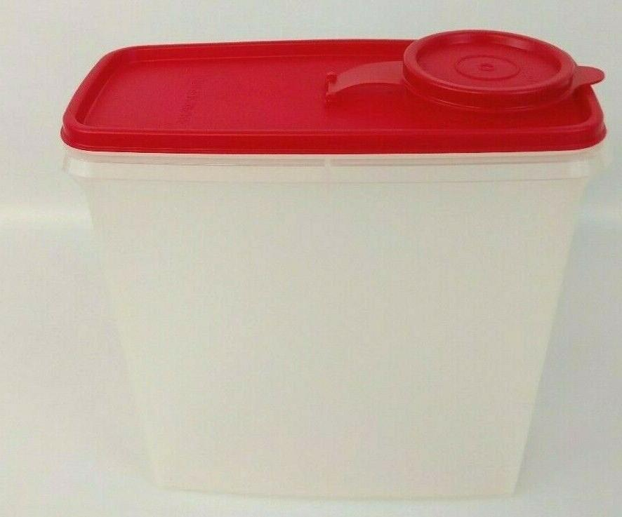 Tupperware Cereal Food Cup Container With Pour Seal