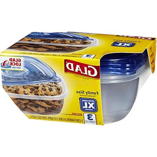 Glad Food Storage - - 104 3