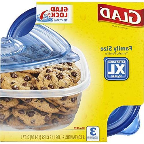 Glad Food - Sized - 104 Ounces 3