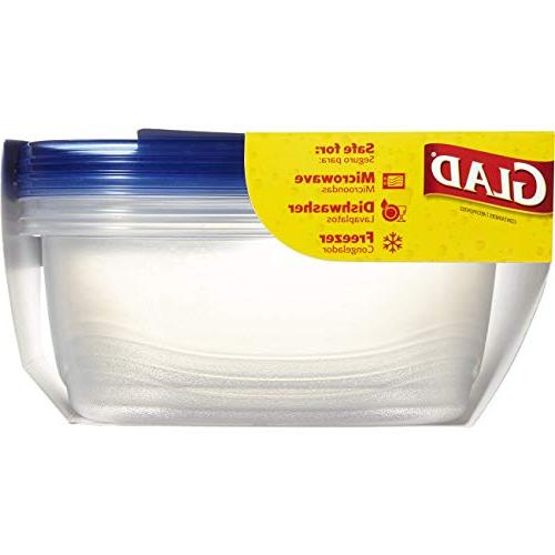 Glad - Sized Container - 104 Ounces - 3 Containers