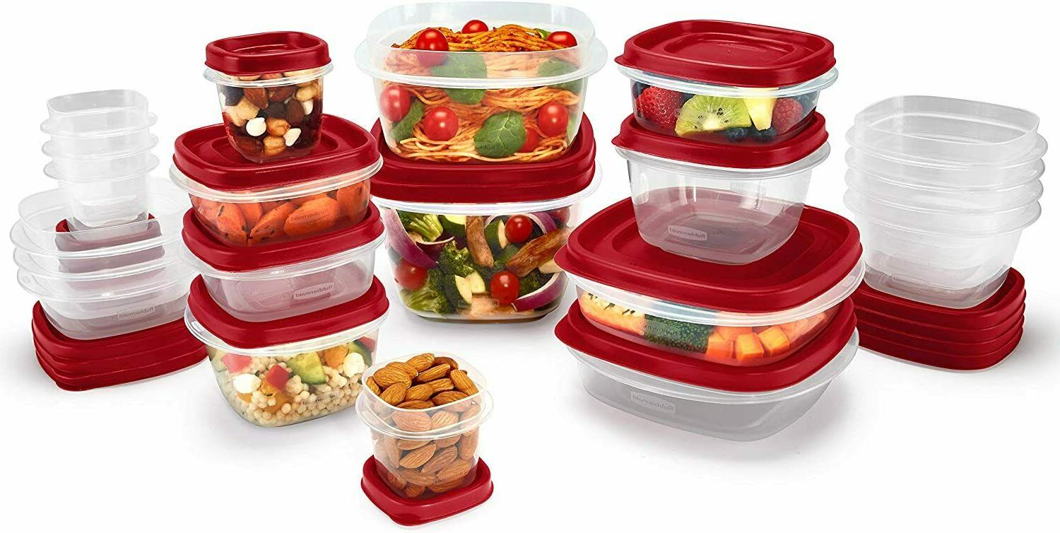 Food Storage Container, Easy Find Lids, Rubbermaid, 42-Piece
