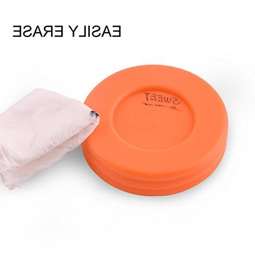 Food Storage Storage-Glass Jars with & & Safe-4oz-Pack of 12