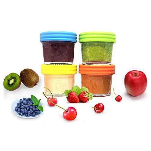 Food Storage-Glass & Free-Freezer & of 12