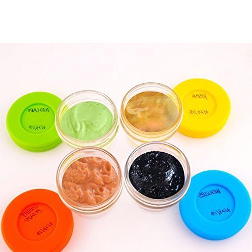 Food Storage Storage-Glass Jars & Lids-BPA Free-Freezer & Dishwasher 12