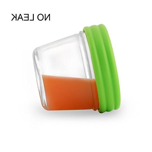 Food Storage Containers-Baby & Airtight & Safe-4oz-Pack
