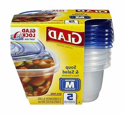 gladware soup salad containers
