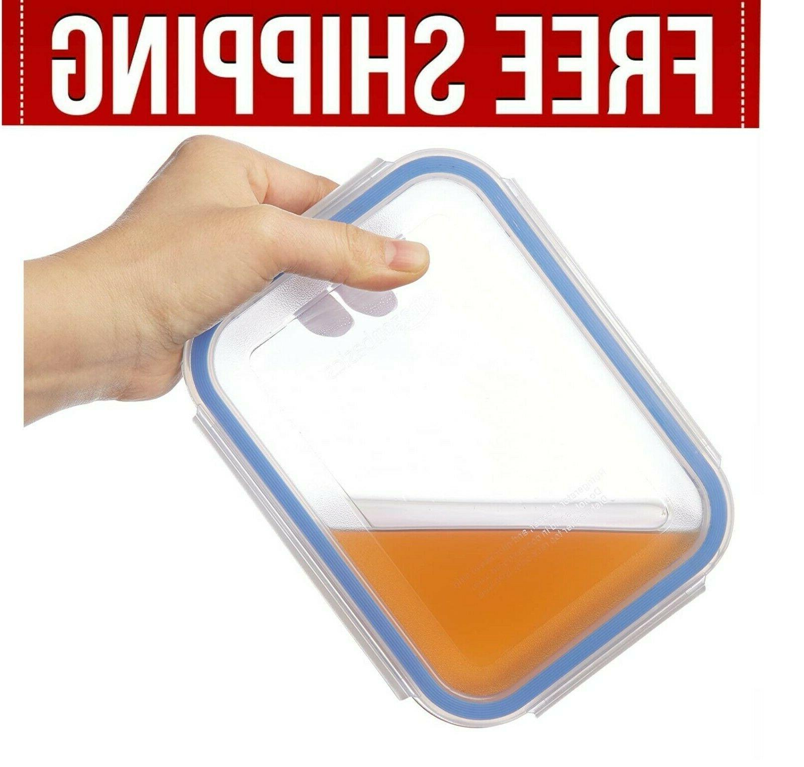 Containers Meal Term Lids Set