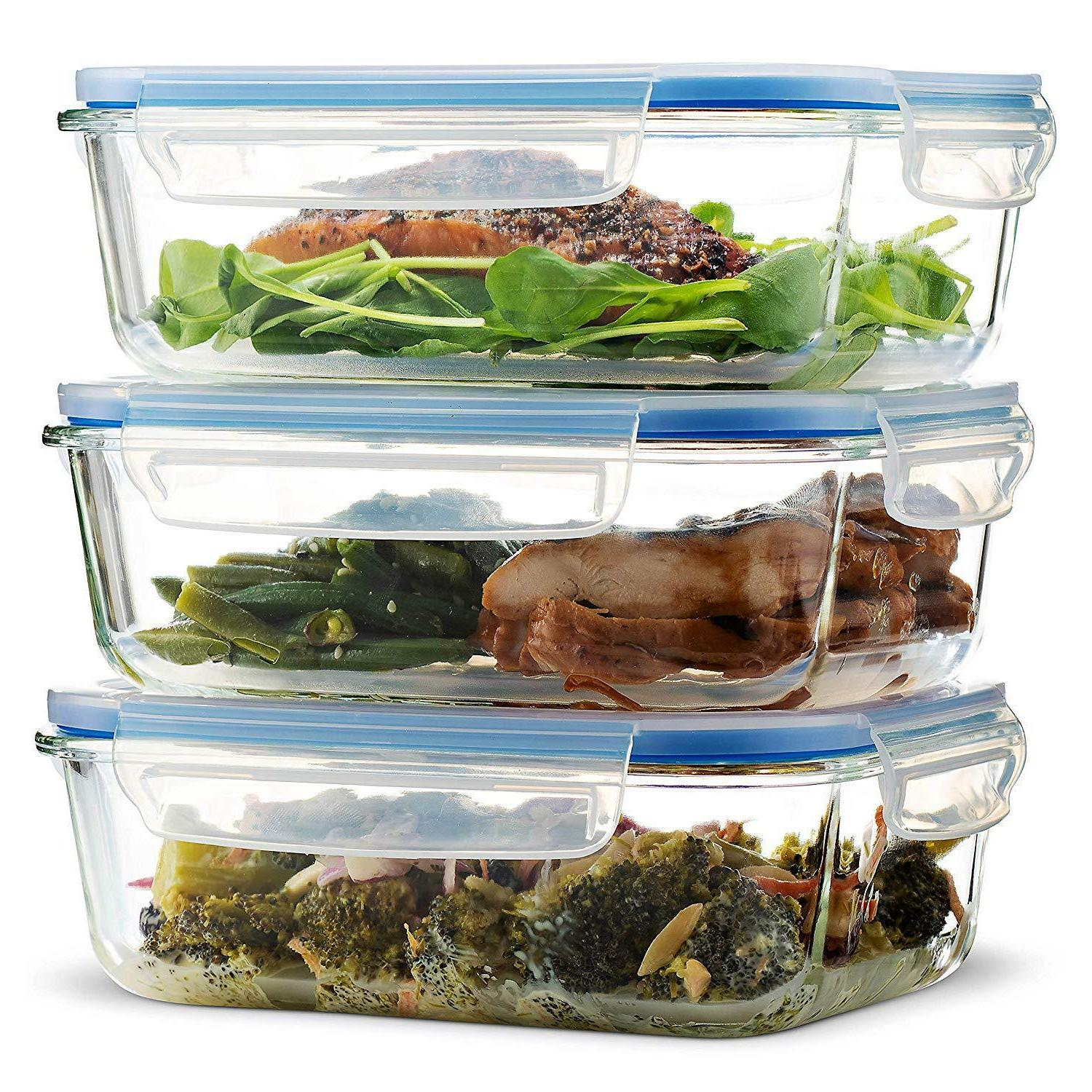 glass meal prep food storage containers 3