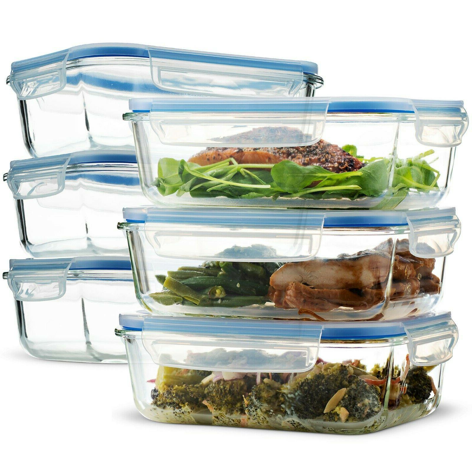 glass meal prep food storage containers 6