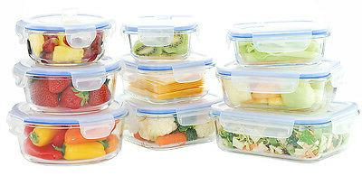 Glasslock Oven Glass Food Storage Container Vented