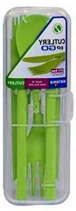 Sistema To Go Cutlery Set - Reusable - Green
