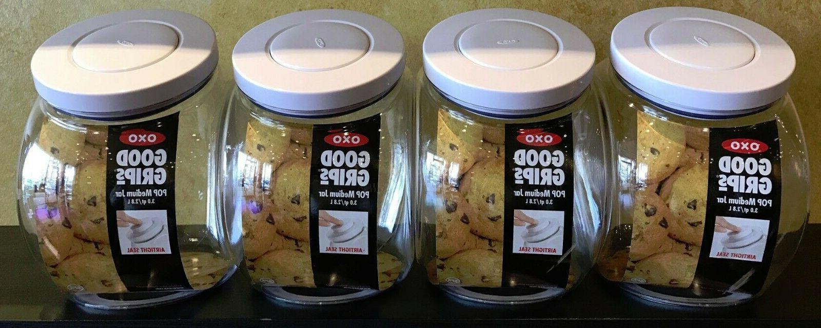 OXO® Good Grips® 3-pc. Canister Set