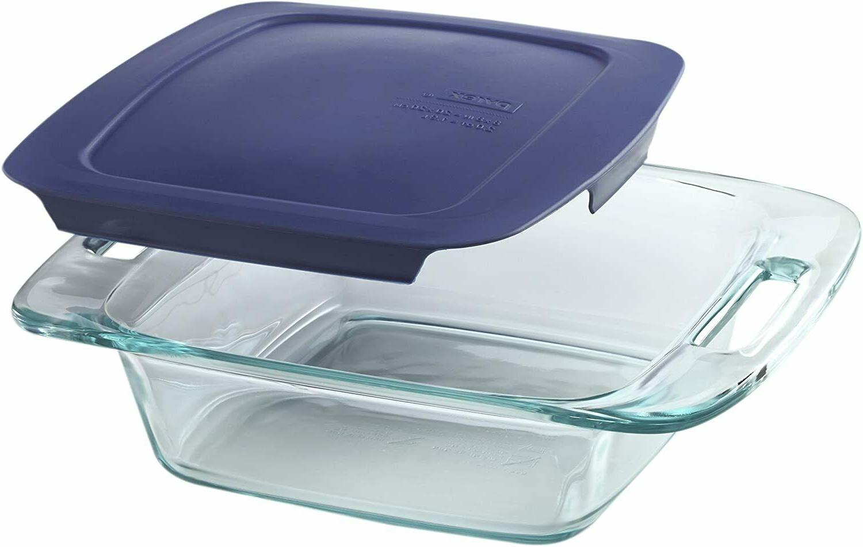 Pyrex Grab Glass and Storage Set, 8-Piece,
