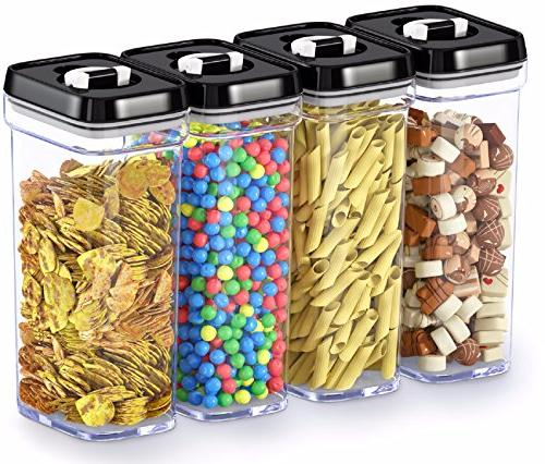 kitchen airtight food storage containers