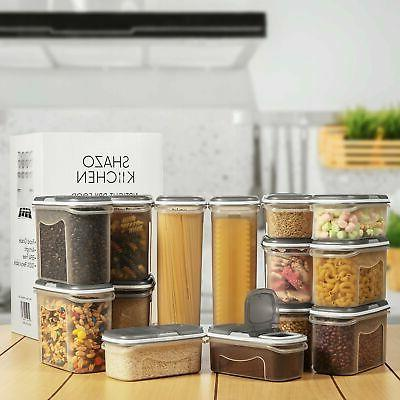 LARGE SET Airtight Storage with Lids