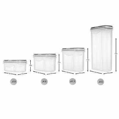 LARGE pc Airtight Containers with Lids