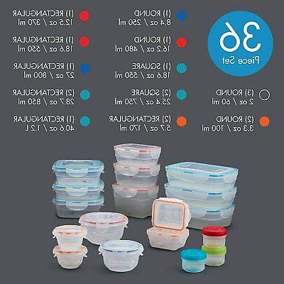 LOCK LOCK Essentials Food Set 18 Containers
