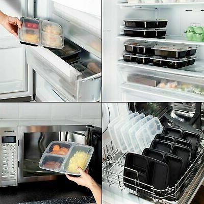 Meal Food Prep Storage Plastic