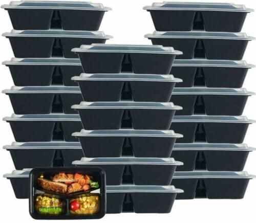 Meal Storage Lunch Plastic Compartment With