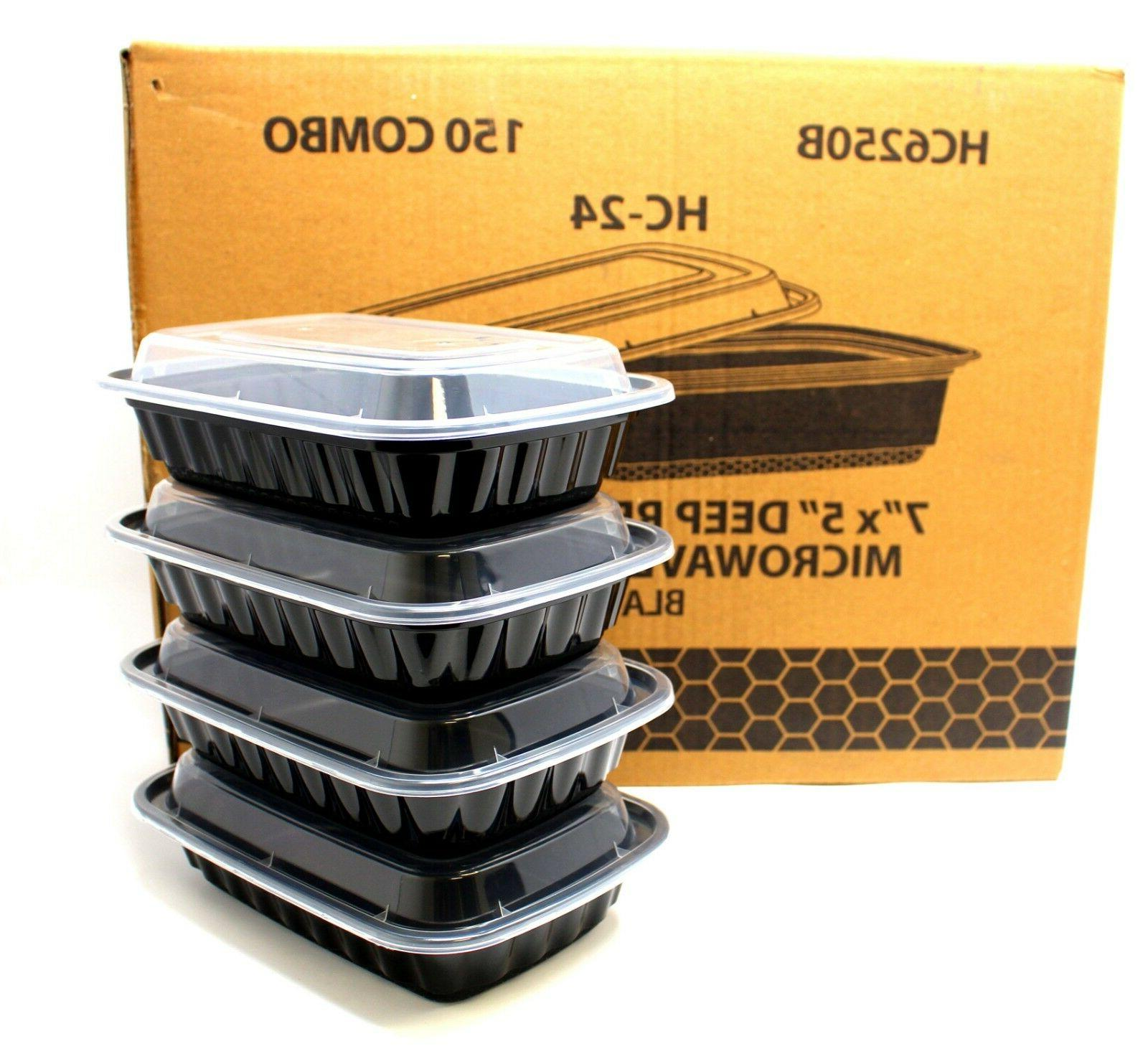 meal prep containers 1 compartment food storage