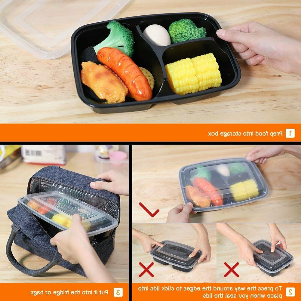 Meal Containers Food Storage Box Plastic
