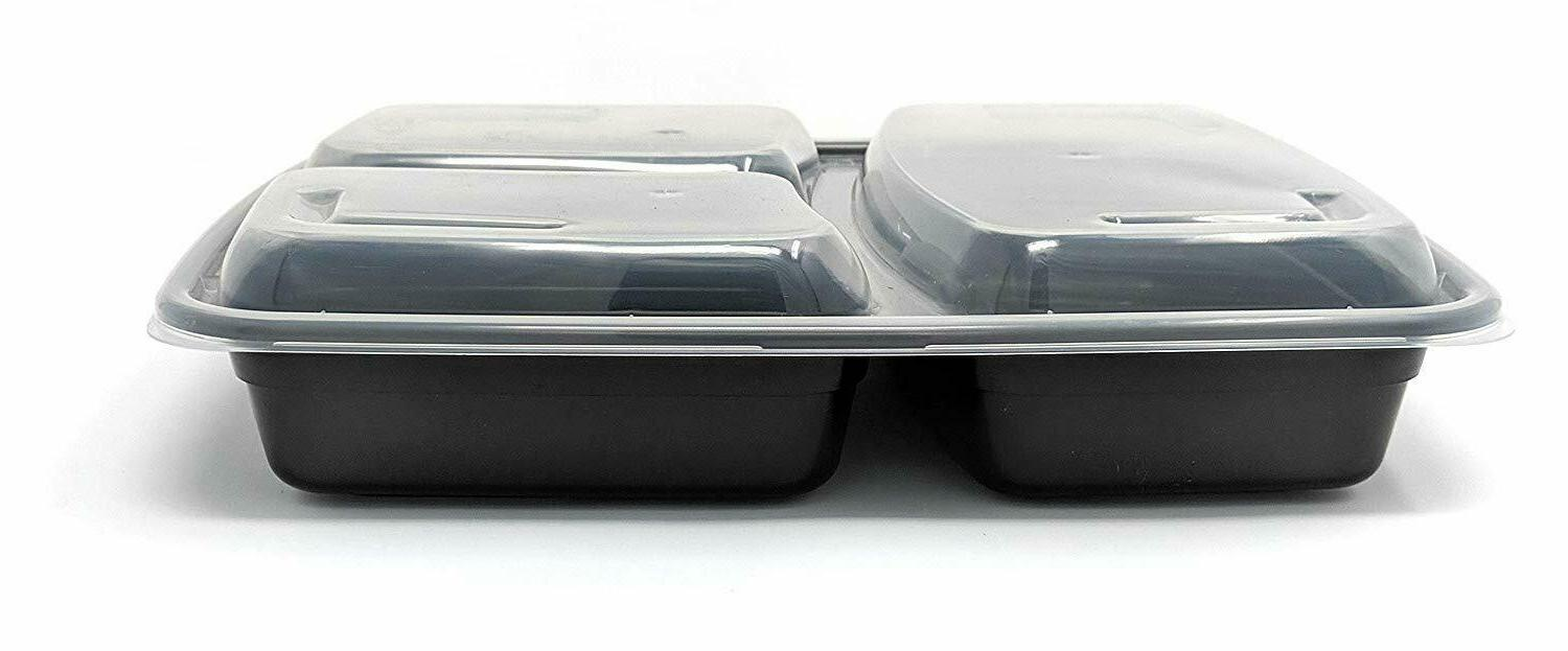 MEAL PREP CONTAINERS Safe Compartment Food