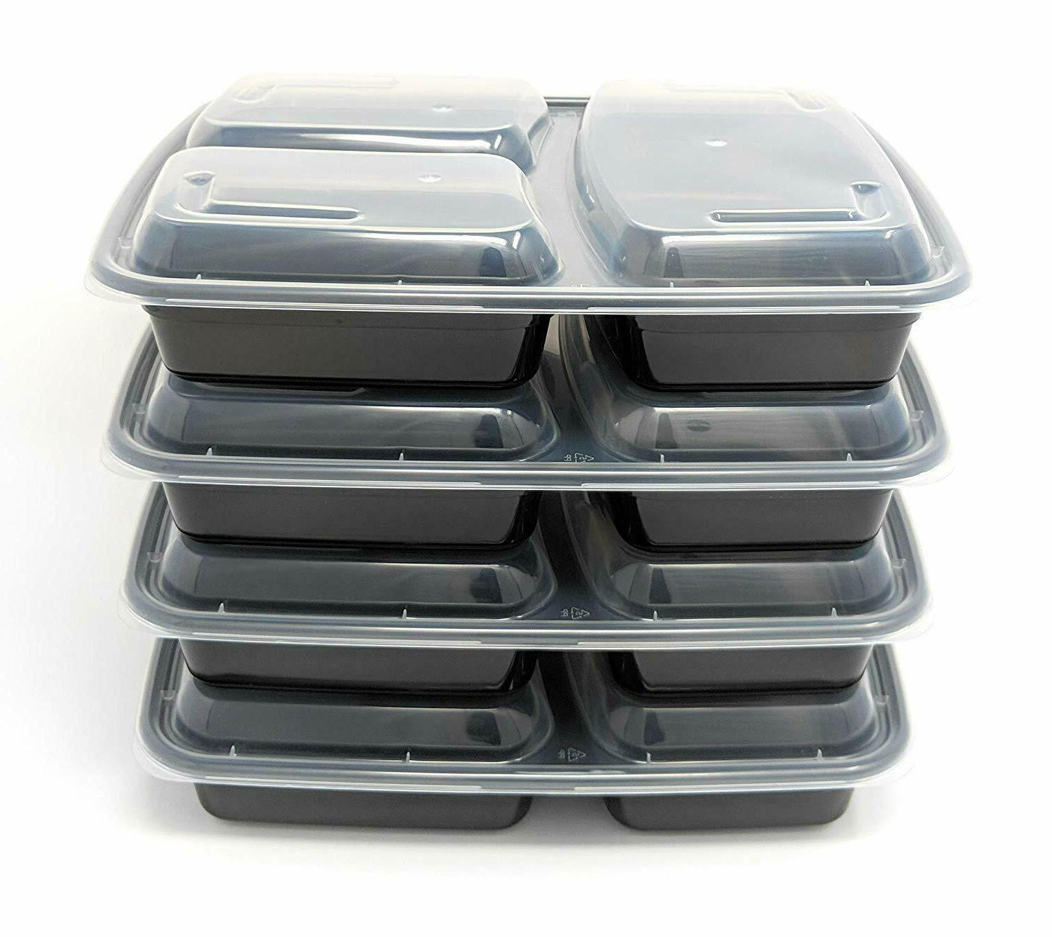 MEAL Safe 3 Compartment Food Storage 15
