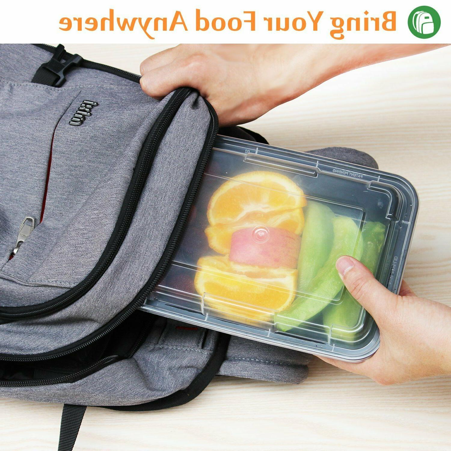 Enther Meal Prep 1Compartment with Bento Box