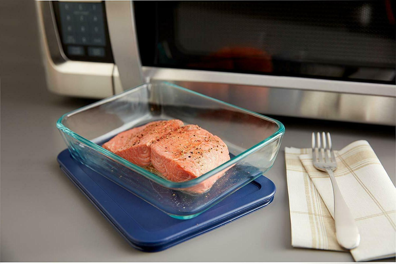 Pyrex Prep Simply Store Glass Food 10-Piece