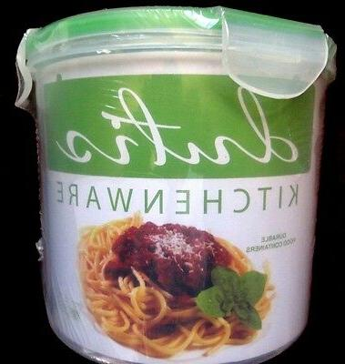 Microwave and Dishwasher Safe Plastic Food Storage Container