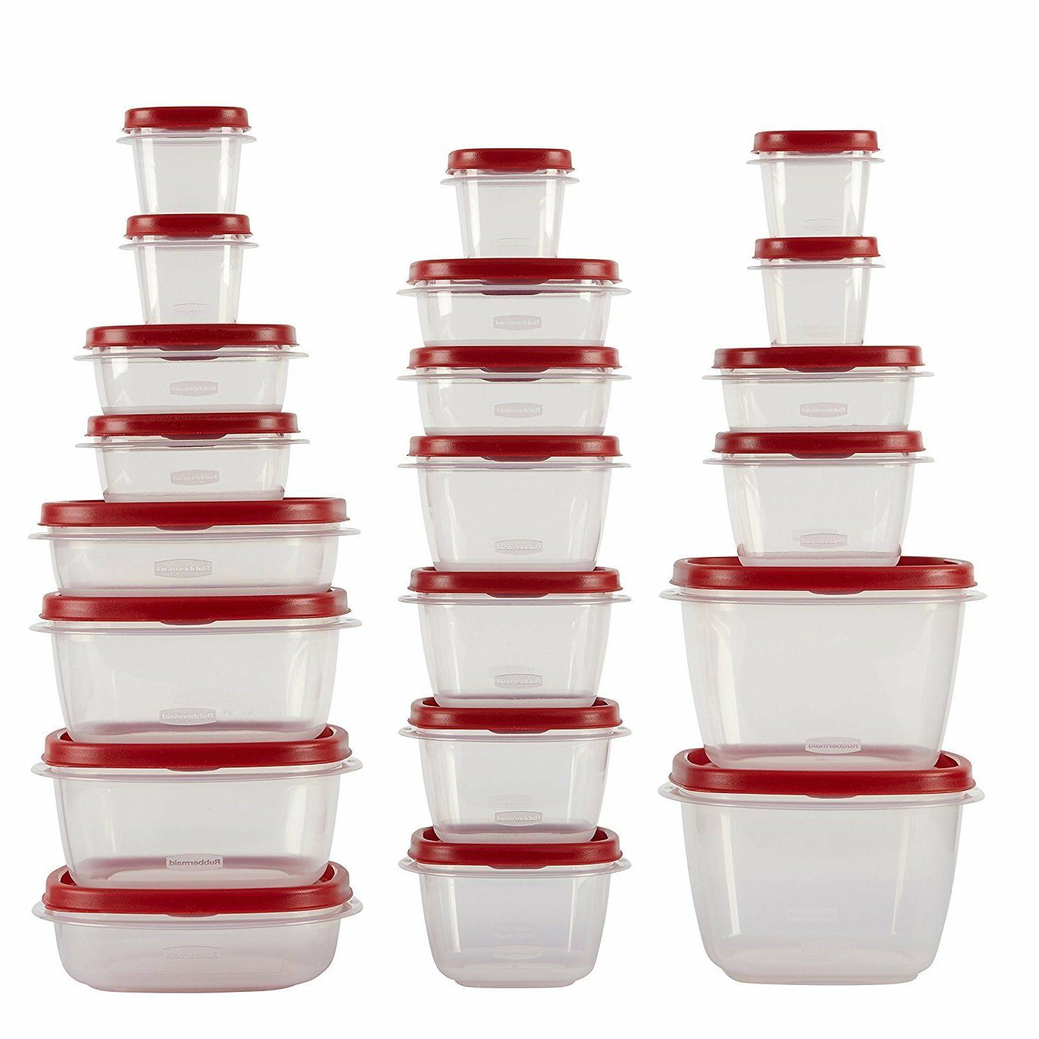 NEW EASY FIND LIDS FOOD STORAGE CONTAINER 42 PIECE 1880801