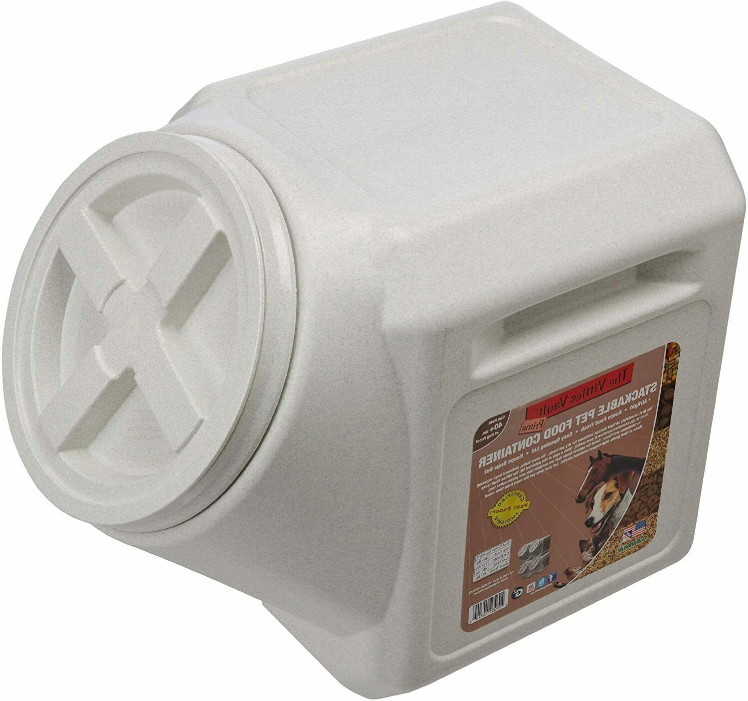 New Food Storage Airtight Container Stackable Outback Vault 40 lb