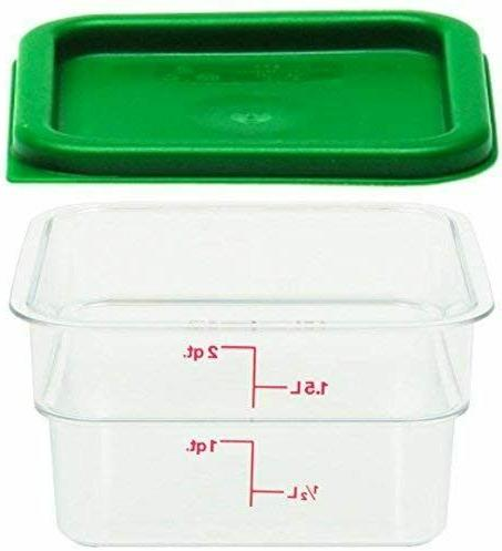 polycarbonate square food storage containers