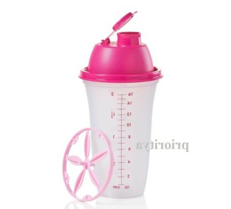 quick shake container pink new in package