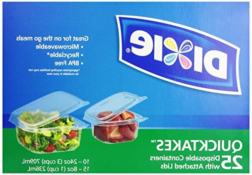 quicktakes disposable food storage containers