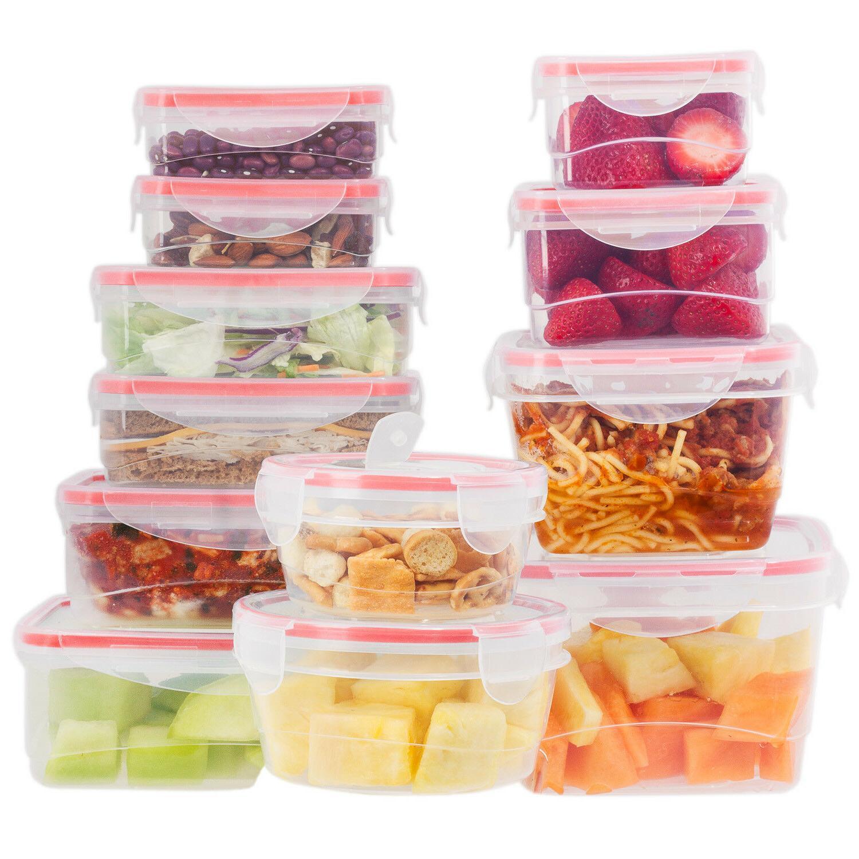 Reusable Plastic Set - Food Storage