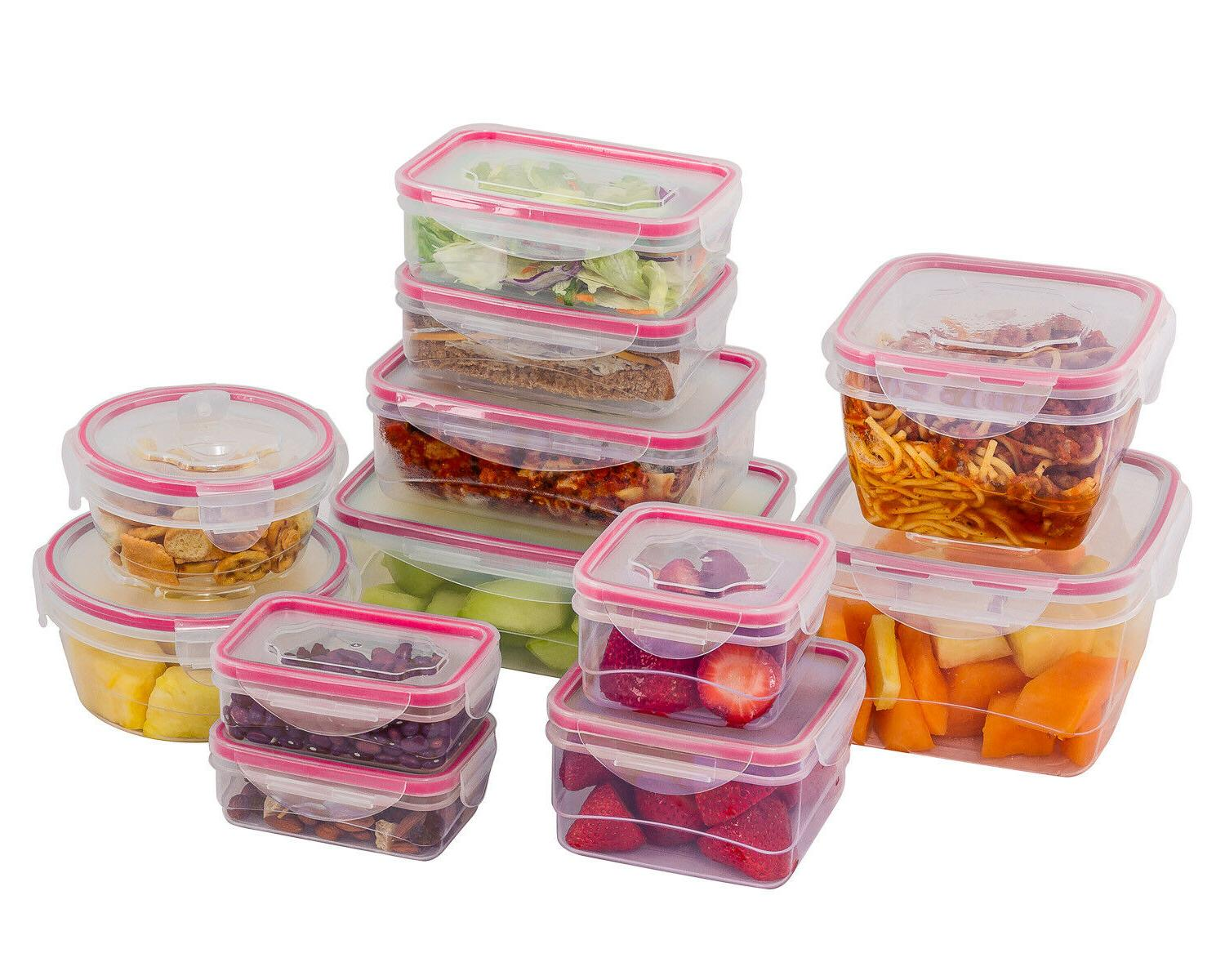 Reusable Plastic Container Food Boxes