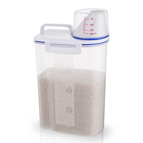 rice storage bin container