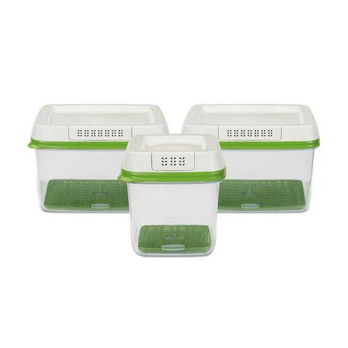 Rubbermaid Food Containers, Set