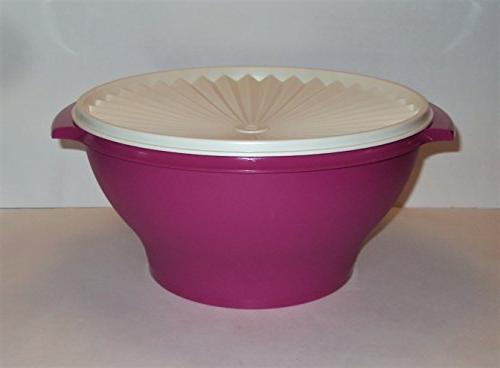 servalier salad serving bowl berry