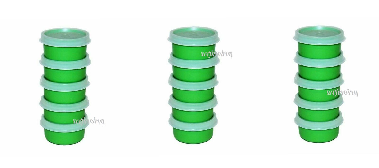 smidgets mini container 1oz each green set