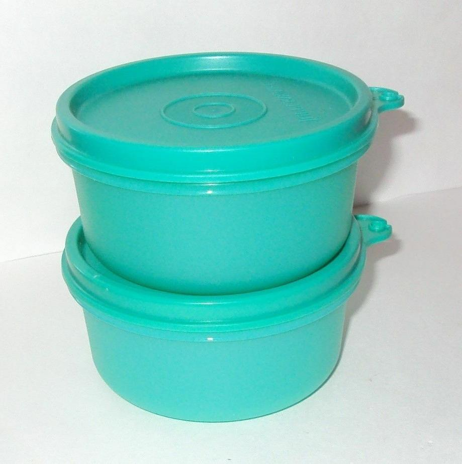 TUPPERWARE Snack Cups Set 2 Lunch Box Bowls Small Serving Di