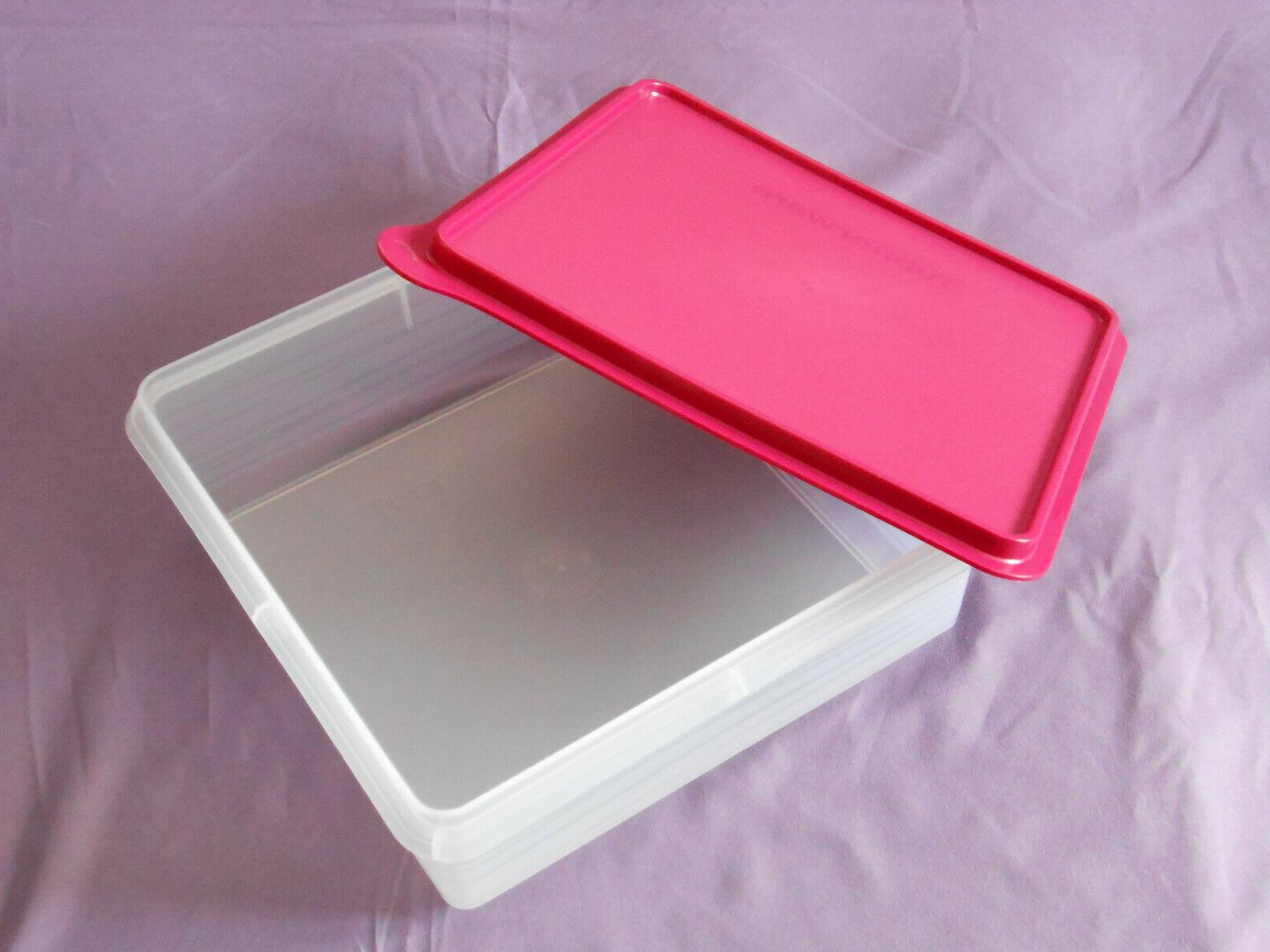 Tupperware stor container x bars cookies storage
