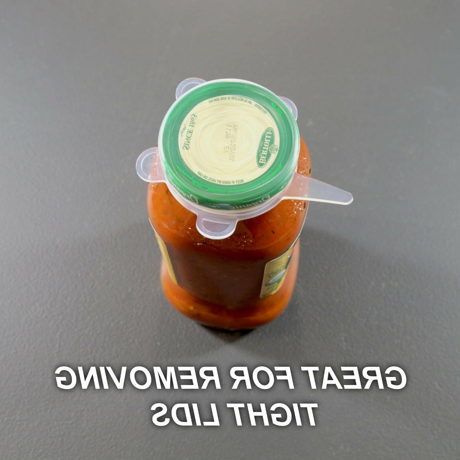 Stretch Lids - Silicone Container Lids
